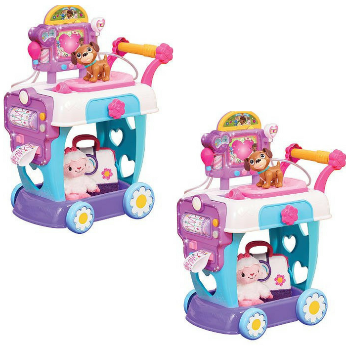 Doc McStuffins Hospital Care Cart Toy Just $39.99! Down From $50! PLUS FREE Shipping!