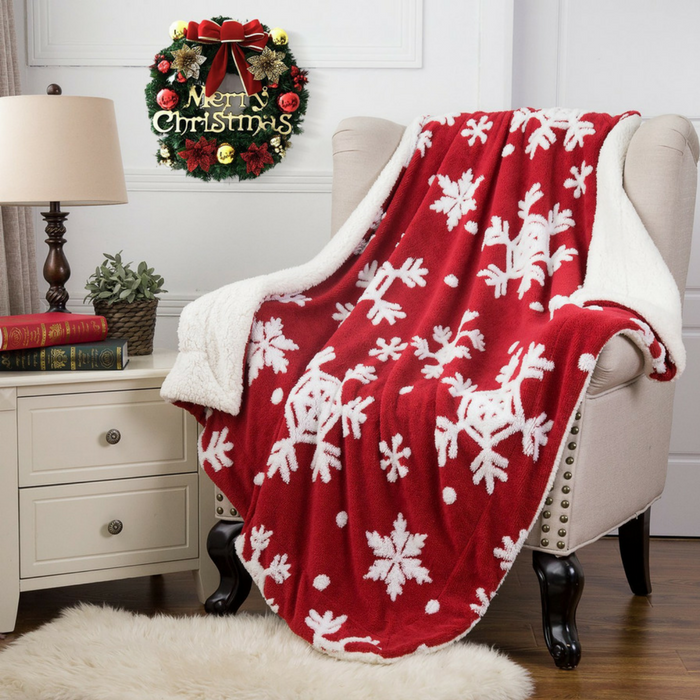Christmas Throw Blanket Just $29.99! Down From $60! PLUS FREE Shipping!