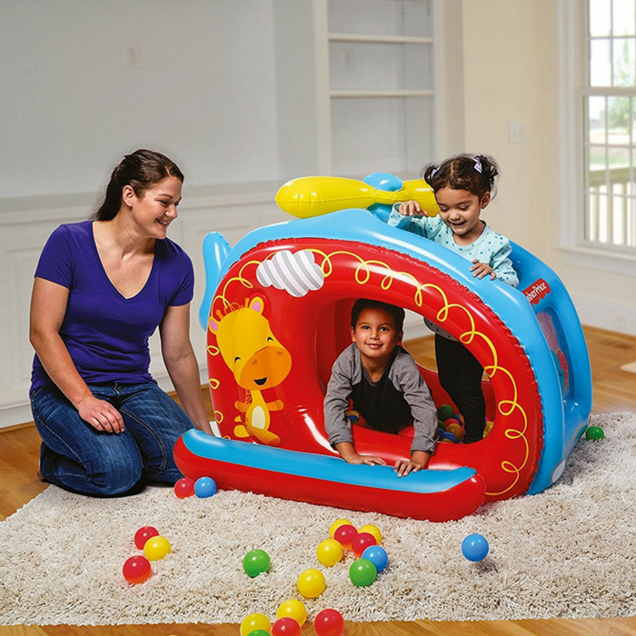 Fisher-Price Helicopter Inflatable Ball Pit Just $14.99! Down From $40!