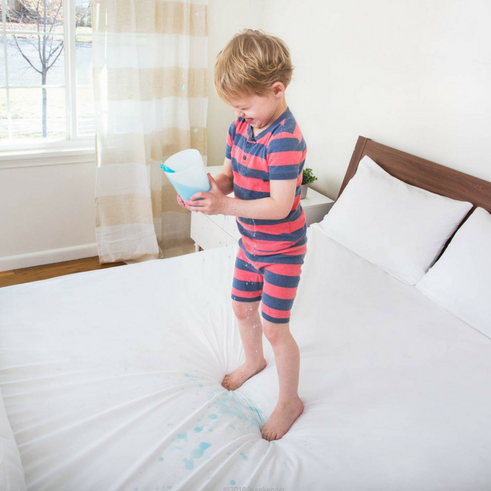 Waterproof Fitted Jersey Mattress Protector Just $10.99!