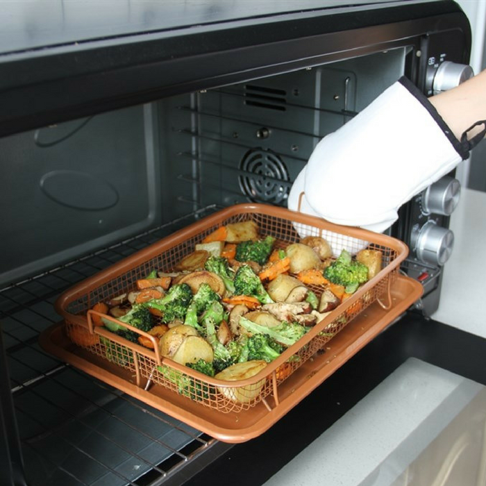 Copper Healthy Crisper Tray Just $19.99! Down From $50! PLUS FREE Shipping!