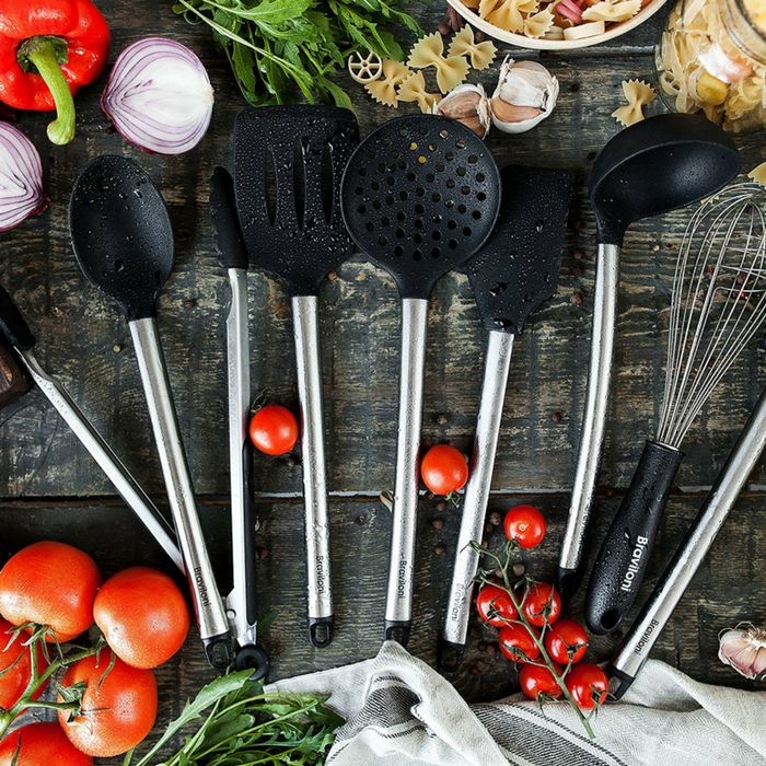 8 Piece Cooking Utensils Just $27.95! PLUS FREE Shipping!