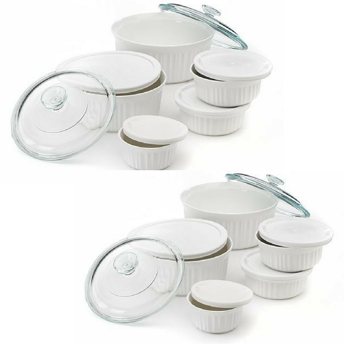 CorningWare 11-Piece French White Serveware Set Just $15.49! Down From $70!