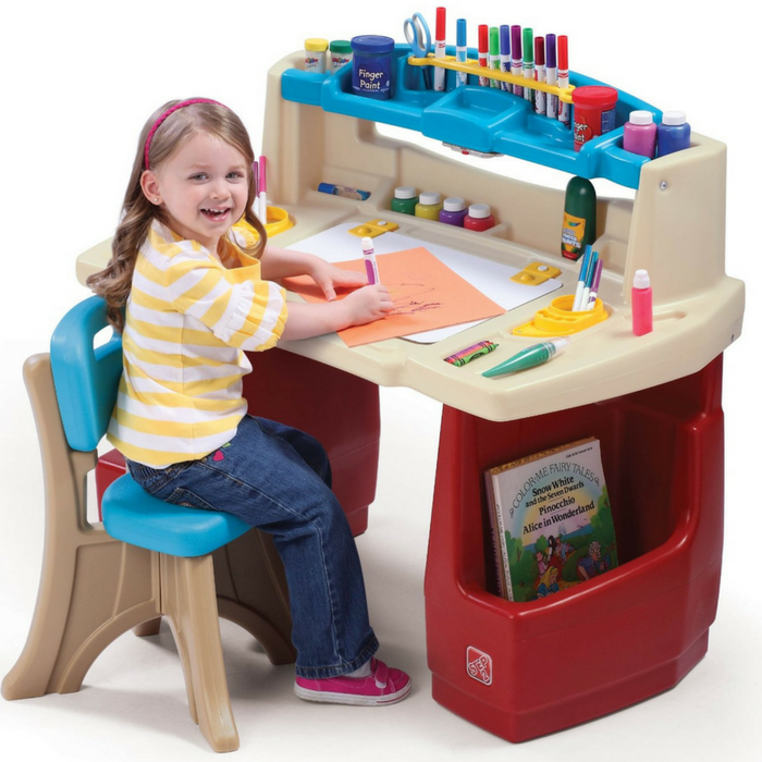 Step2 Deluxe Art Master Kids Desk Just $51.51! Down From $90! PLUS FREE Shipping!