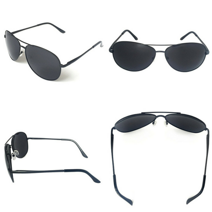 Military Style Classic Aviator Sunglasses Just $16.99! Down From $40!