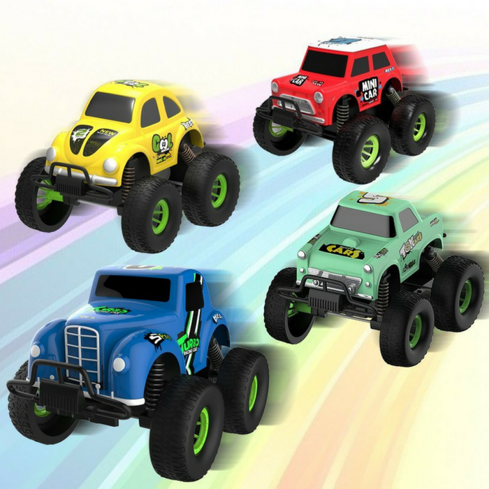 4-Pack Alloy Friction Pull Back Cars Just $22.99! Down From $70!