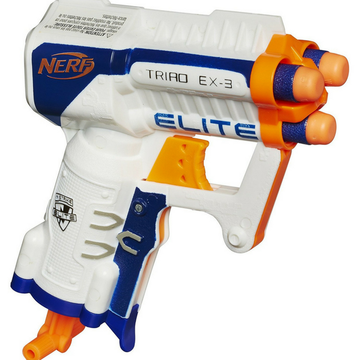Nerf N-Strike Elite Triad EX-3 Blaster Just $5.08!