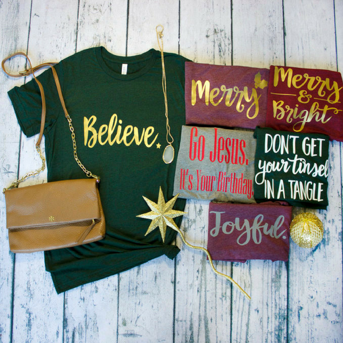 Holiday Tees & Raglans Just $14.99! Down From $29!