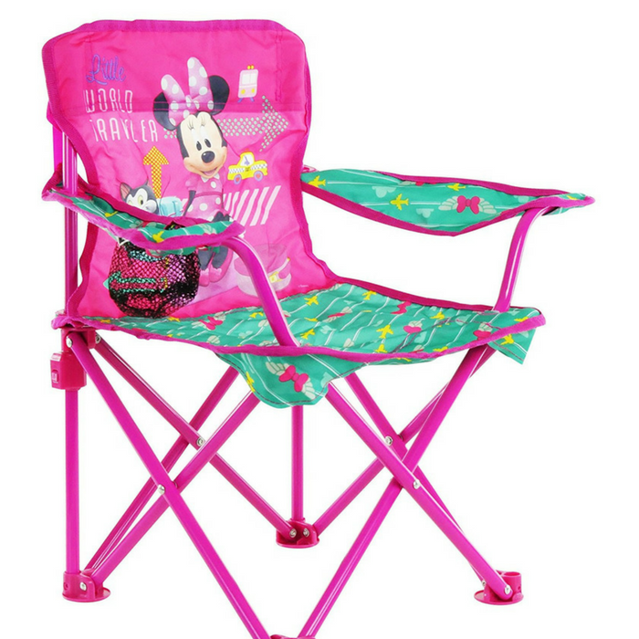 Disney Minnie Jet Set Fold N' Go Chair Just $11.44! Down From $20! PLUS FREE Shipping!