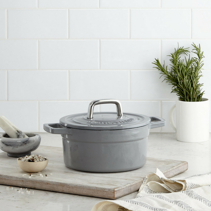 Martha Stewart Cast Iron 2-Quart Dutch Oven Just $24.99! Down From $100!