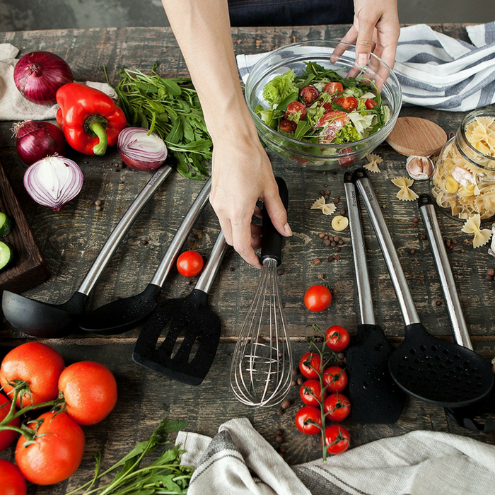 8-Piece Nonstick Cooking Utensils Just $25.95! PLUS FREE Shipping!