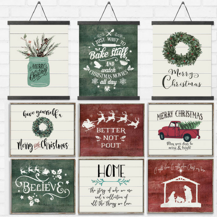 Joys Of Christmas Rustic Prints Just $3.97! Down From $22!