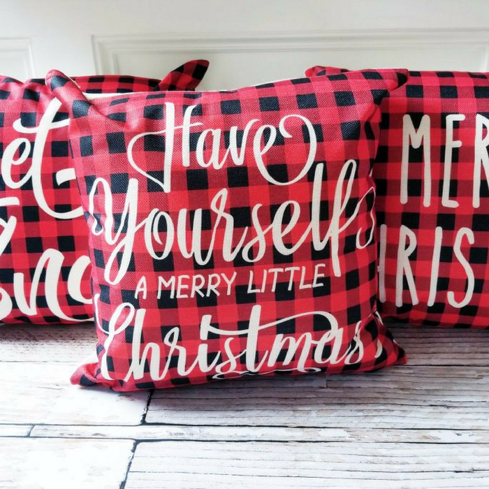 Christmas Pillow Covers Just $6.99! Down From $30!