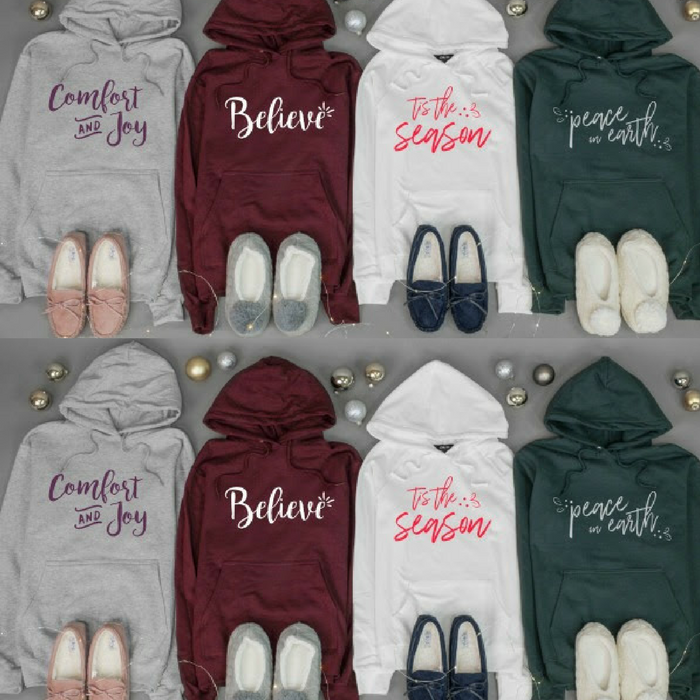 $15 Off Holiday Hoodies And Slippers! Price Starts At $14.95! PLUS FREE Shipping!
