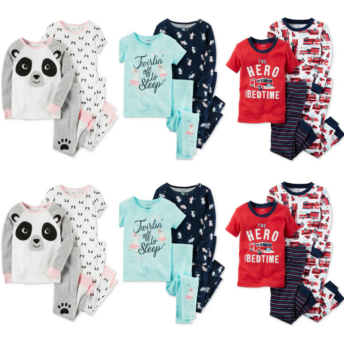 Carter's 4-Piece Pajama Sets Just $9.56! Down From $34!