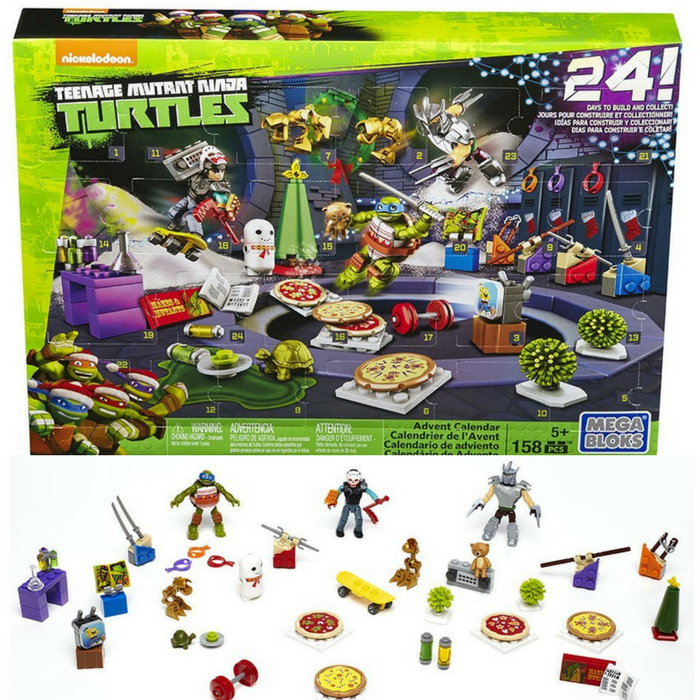 TMNT Advent Calendars Just $15.95! Down From $30!