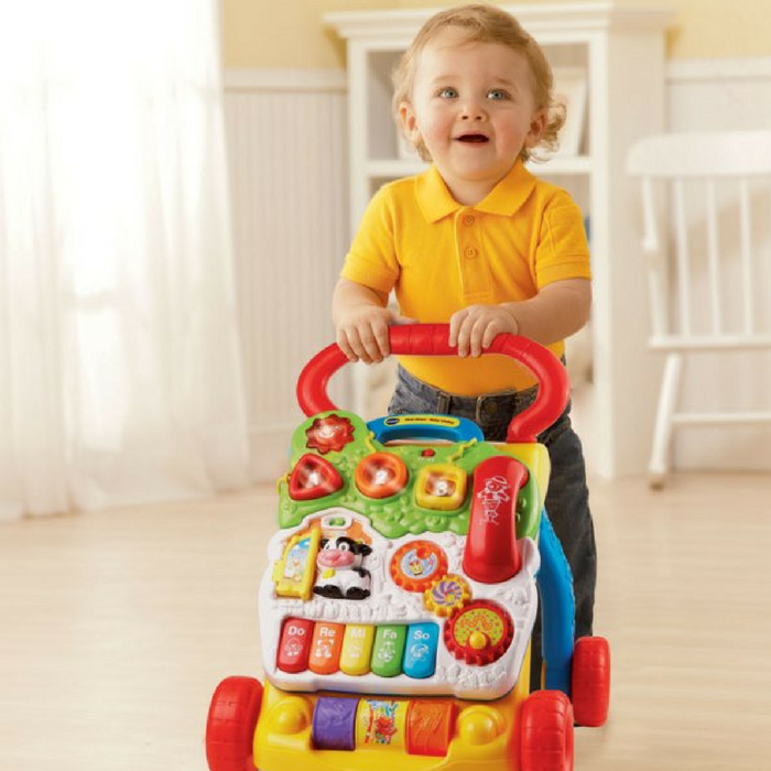 VTech Sit-To-Stand Learning Walker Just $19.99! Down From $35!