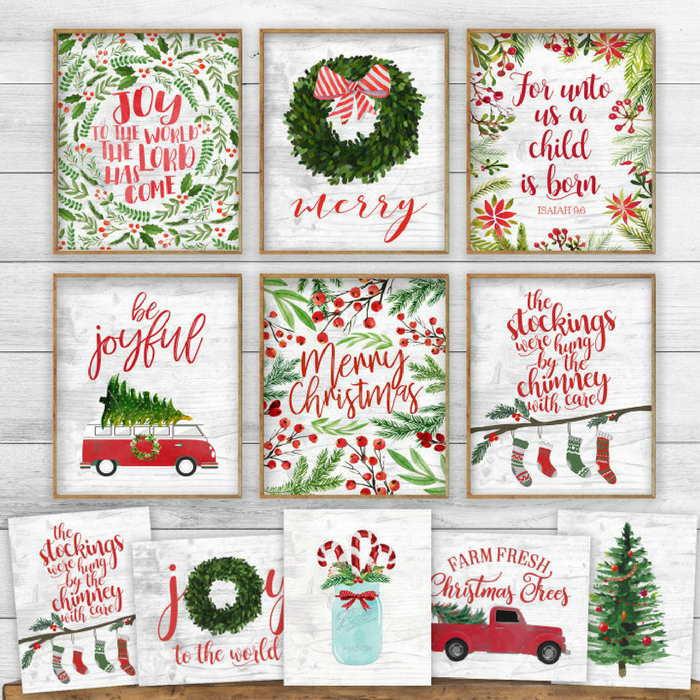 Christmas Print Blowout Just $2.97! Down From $13!