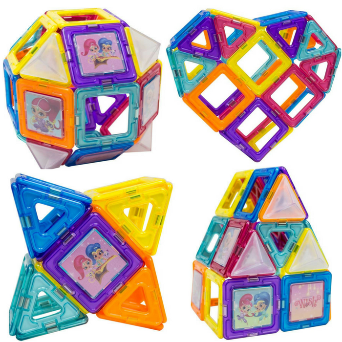 Magformers Shimmer And Shine 42-Piece Set Just $29.99! Down From $50! PLUS FREE Shipping!