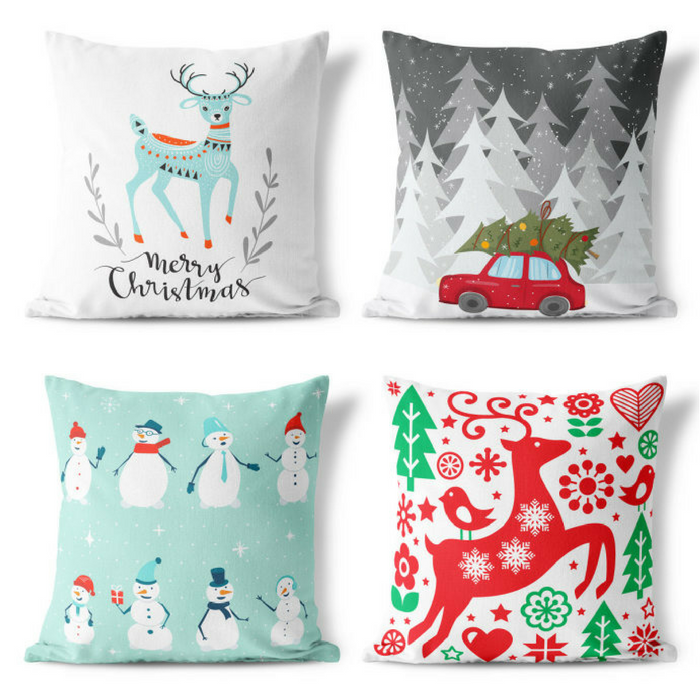 Joyful Christmas Pillow Covers Just $7.99! Down From $15!