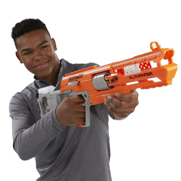 Nerf N-Strike Elite AccuStrike Series AlphaHawk Just $18.97! Down From $30! PLUS FREE Shipping!
