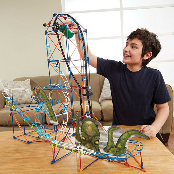 K'NEX Revenge Roller Coaster Building Just $29.99! Down From $50! PLUS FREE Shipping!