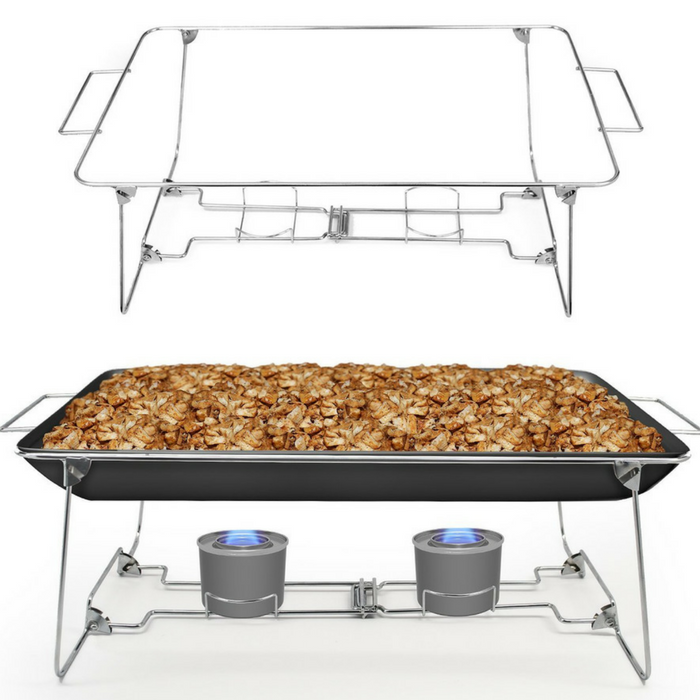 Buffet Rack Chafing Stand 2-Piece Set Just $17.99! Down From $30!