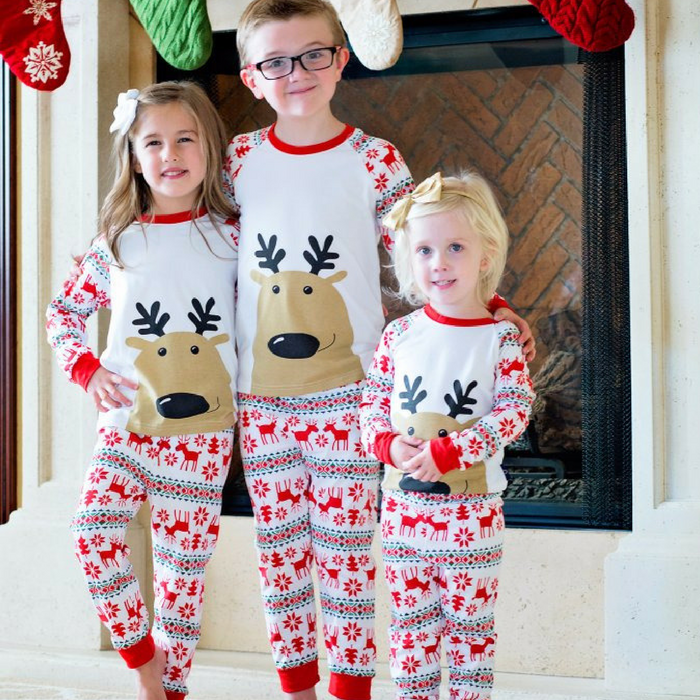 Kids Christmas Pajamas.Kids Christmas Pajamas Just 14 99 Down From 23