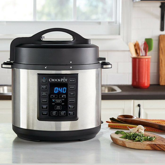 Crock-Pot 6-Quart Pressure Cooker Just $49.99! Down From $80! PLUS FREE Shipping!