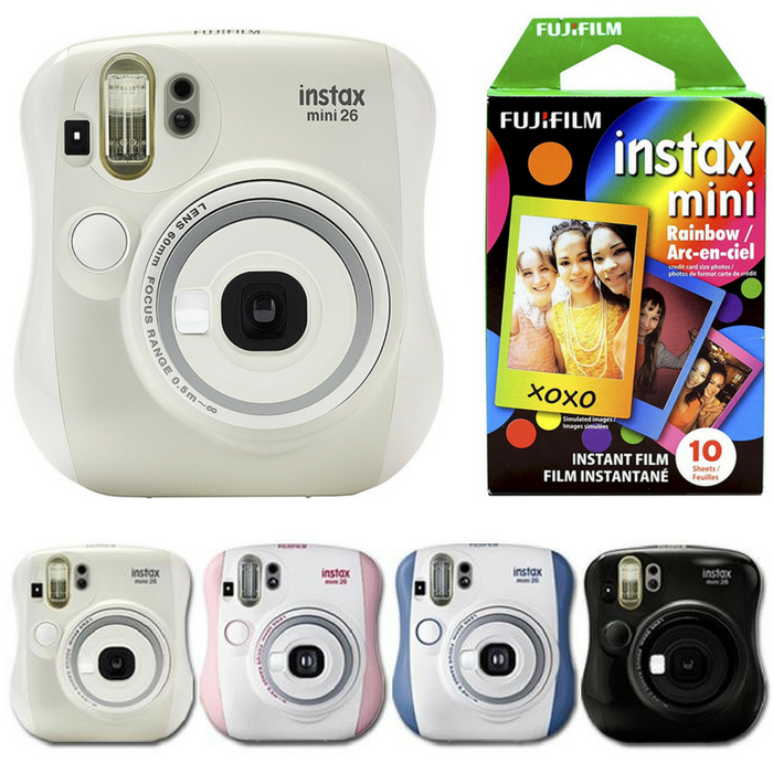 Fujifilm Instax Mini 26 Camera Just $54.99! Down From $70! PLUS FREE Shipping!