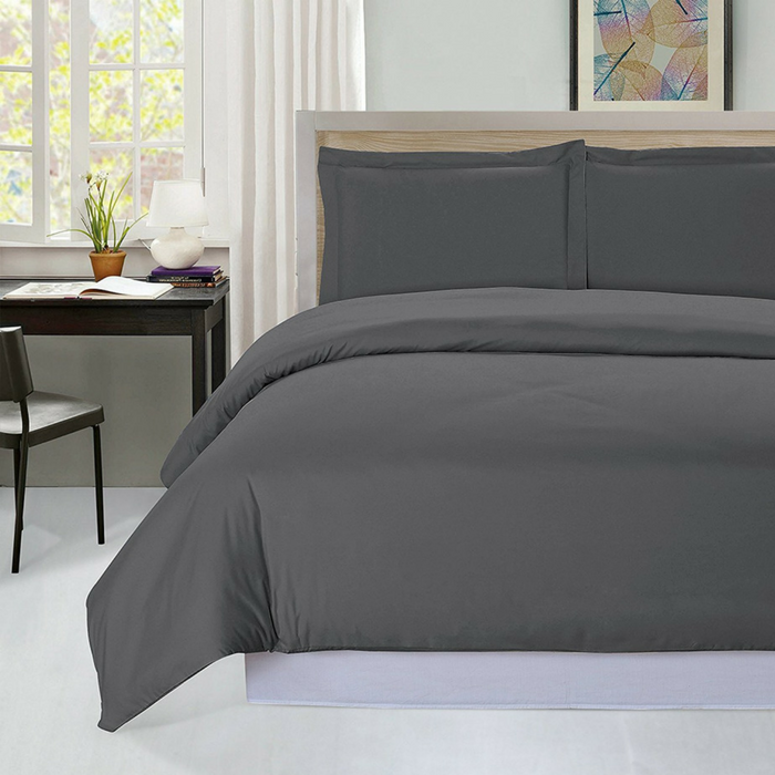 3-Piece King Duvet Cover Set With 2 Pillow Shams Just $19.99! Down From $44!