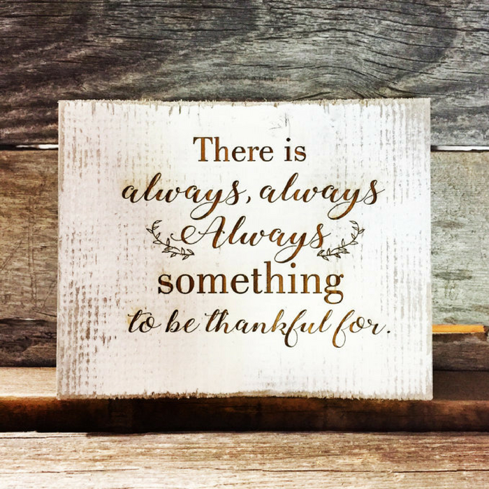 Rustic Barnwood Thanksgiving Signs Just $11.99! Down From $23! PLUS FREE Shipping!