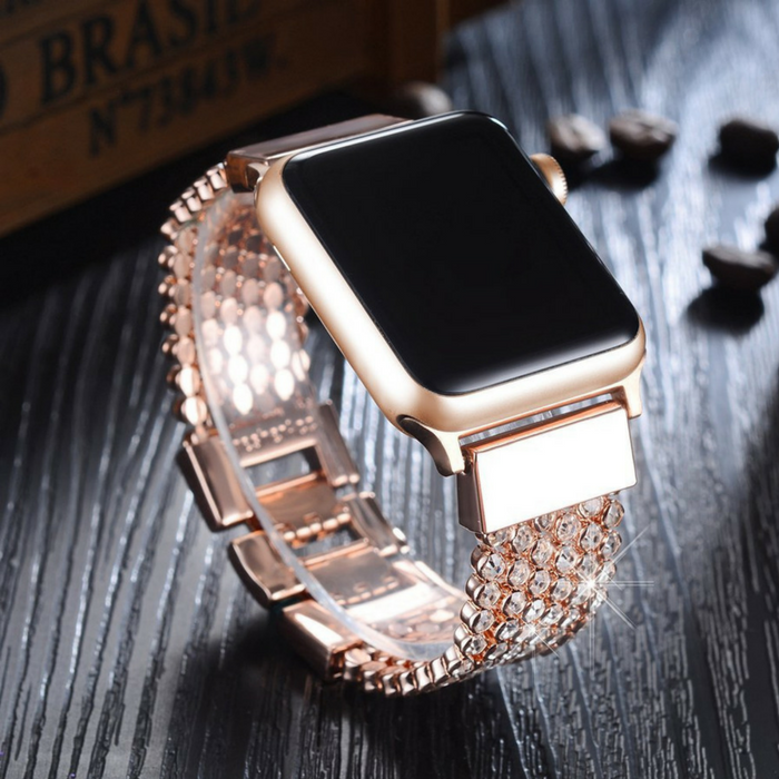 Crystal Diamond Apple Watch Band Just $21.99!