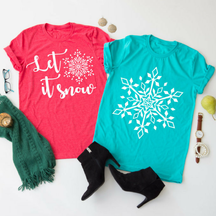 Let It Snow Tee Just $13.99! Down From $28!
