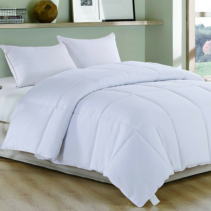 White Down Alternative Comforter Duvet Insert Just $24.99! Down From $48!