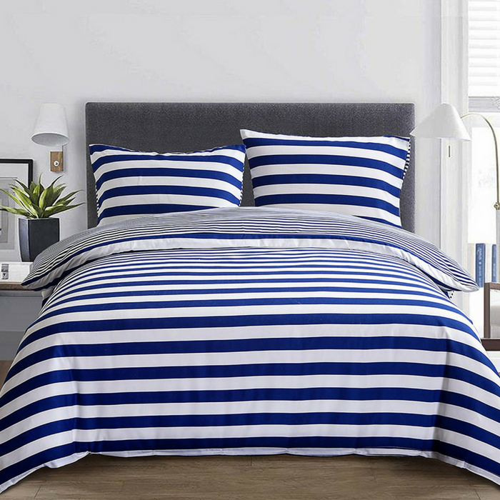 3-Piece Microfiber Reversible Duvet Cover Set Just $21.99!