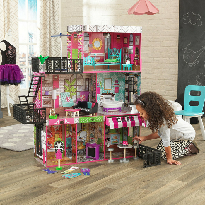KidKraft Brooklyn's Loft Doll House Just $79! Down From $160! PLUS FREE Shipping!