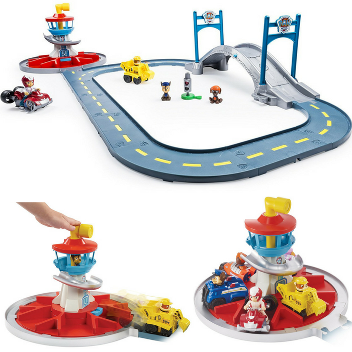 Paw Patrol Launch N Roll Lookout Tower Track Set Just $19.97! Down From $50!