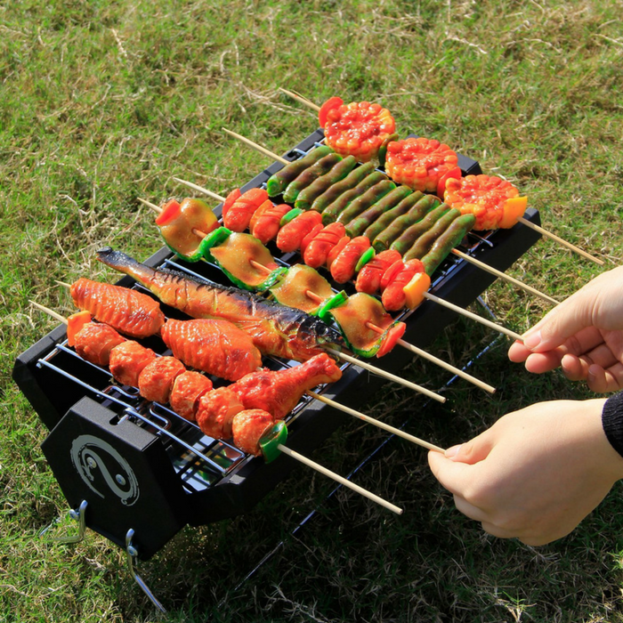 Portable Foldable Charcoal BBQ Grill Just $26.99! Down From $60! PLUS FREE Shipping!