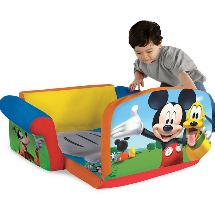 Disney Mickey Mouse Sofa Just $34.97! Down From $50! PLUS FREE Shipping!