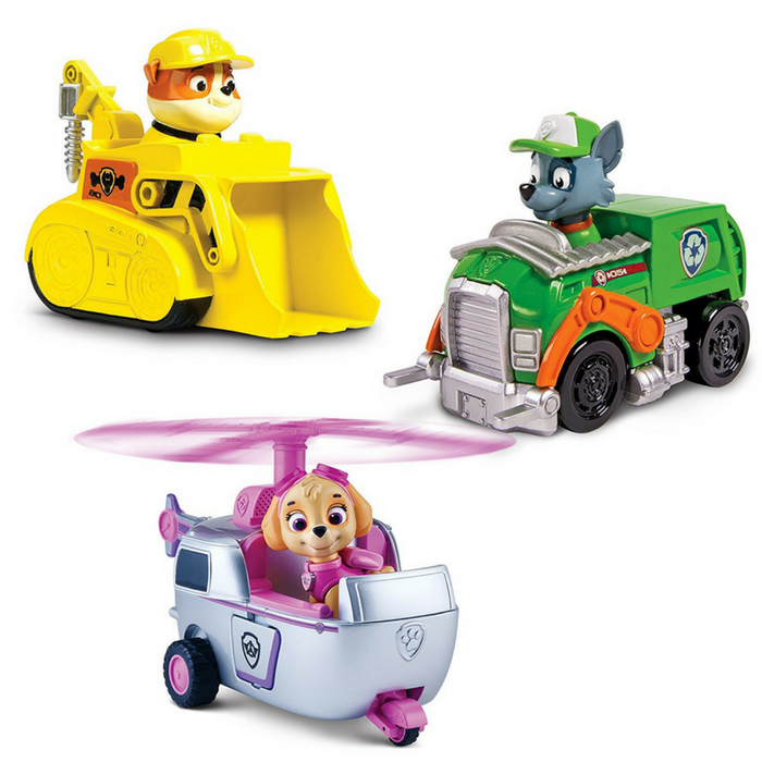 Paw Patrol Racers 3-Pack Vehicle Set Just $17.44! Down From $40!