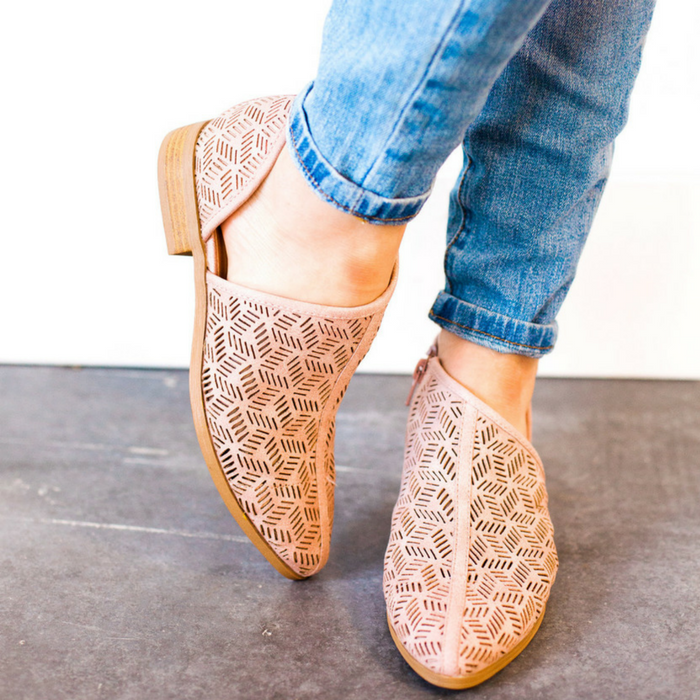 Cut Out Detailed Flats Just $29.99! Down From $60!