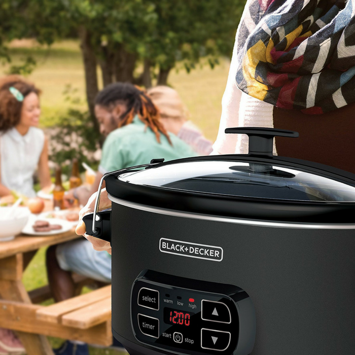 Black + Decker 7-Quart Digital Slow Cooker Just $32.99! Down From $50! PLUS FREE Shipping!