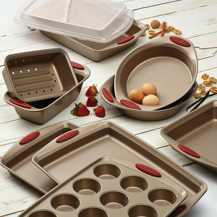 Rachael Ray Nonstick Bakeware 10-Piece Set Just $58.60! Down From $200! PLUS FREE Shipping!