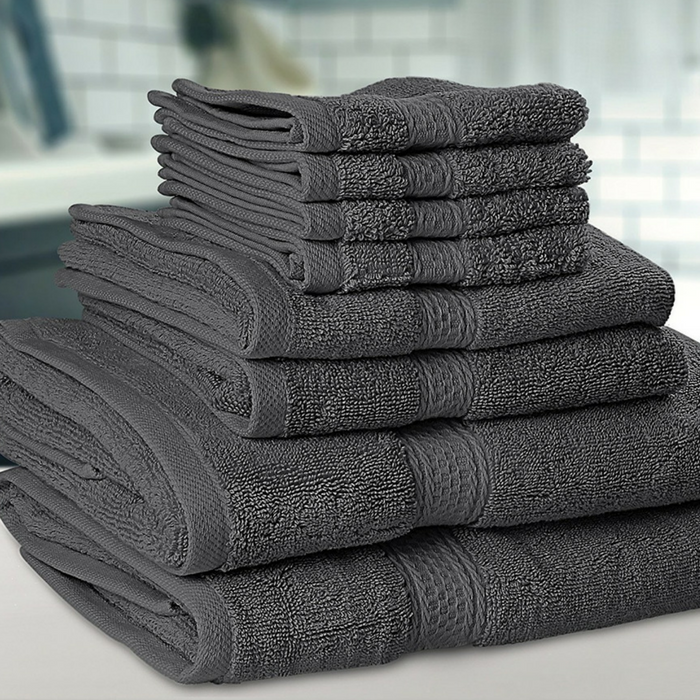 Premium 8-Piece Towel Set Just $24.99! Down From $60!
