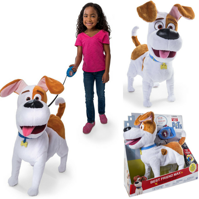 The Secret Life Of Pets Best Friend Max Just $22.49! Down From $50!