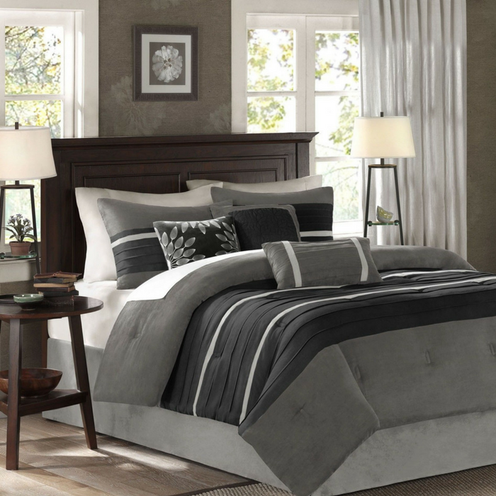 Madison Park 7-Piece Comforter Sets Just $52.99! Down From $320! PLUS FREE Shipping!