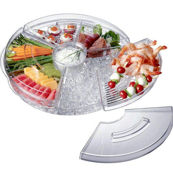 Prodyne Appetizers-On-Ice With Lids Just $30.25! Down From $40! PLUS FREE Shipping!