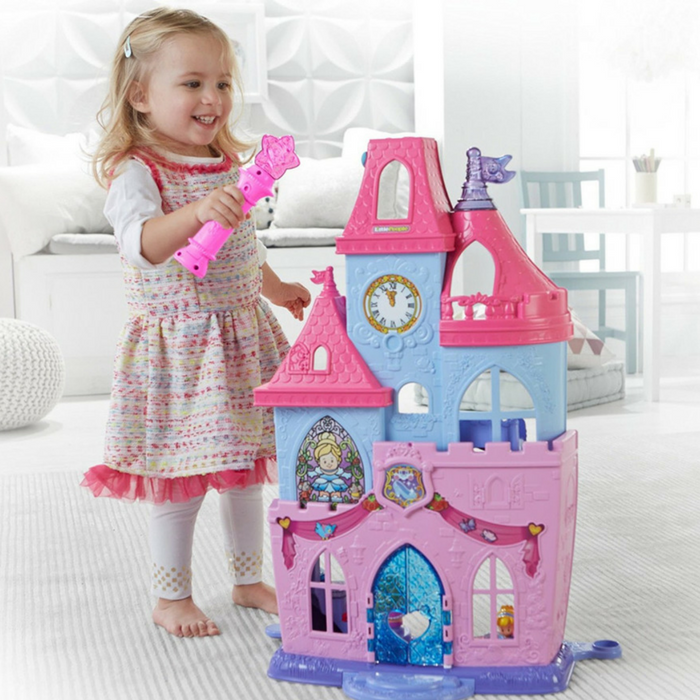 Fisher-Price Disney Princess Magical Wand Palace Playset Just $19.99! Down From $27!