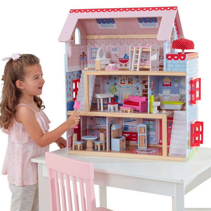 KidKraft Chelsea Dollhouse Just $51.84! Down From $130! PLUS FREE Shipping!